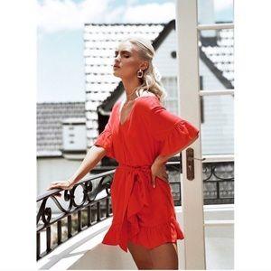 Sabo Skirt cherry frill dress